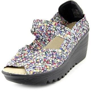 Bernie Mev. Halle Women Open Toe Synthetic Multi Color Wedge Heel