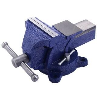 Costway Mechanic Bench Vise Table Top Clamp Press Locking Swivel Base