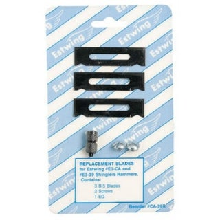 Estwing CA-39R Hammer Replacement Blade for E3-CA Milled Face Shinglers Hammer