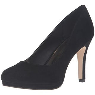 Madden Girl Womens Dolce Pumps Faux Suede Platform