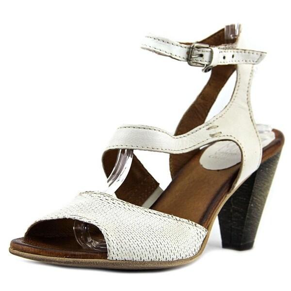 Miz Mooz MARIE Women Open-Toe Leather White Heels