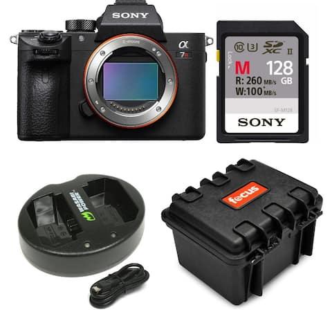 Sony Alpha a7R III Mirrorless Camera Body with 128GB Card Bundle