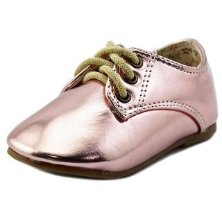 The Doll Maker MF143111 Toddler Round Toe Synthetic Oxford