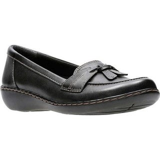 Clarks Women's Ashland Bubble Black Leather