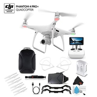 DJI Phantom 4 Pro+ (CP.PT.000549) With BackPack and VR Viewer Bundle