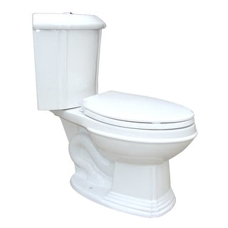 White Porcelain Elongated Space Saving Corner Toilet Renovator's Supply