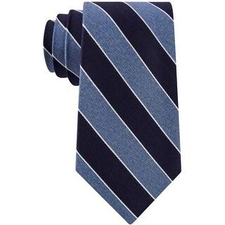Link to Club Room Mens Stripe Self-Tied Necktie - One Size Similar Items in Ties
