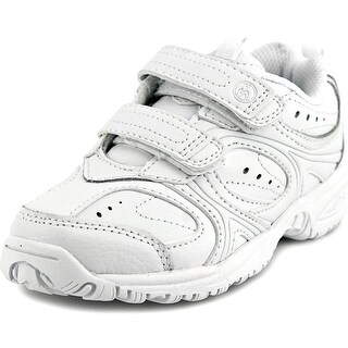 Stride Rite Cooper H&L Round Toe Leather Sneakers