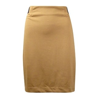 Grace Elements Women's Elastic-Sides Ponte Pencil Skirt