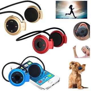 Wireless Bluetooth Stereo Waterproof Headset Headphone - Available in Multiple Colors