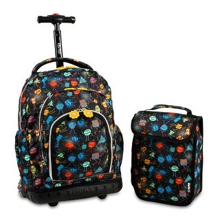 J World New York Lollipop Rolling Backpack - party mobs