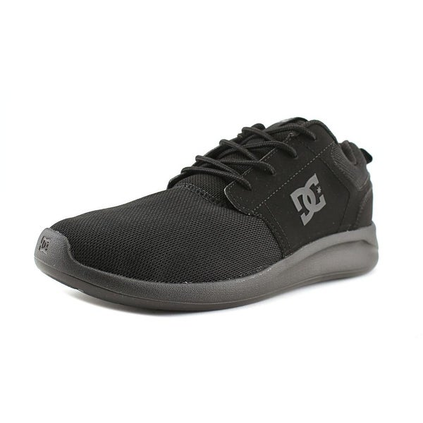 DC Shoes Midway SN Men Round Toe Synthetic Black Skate Shoe