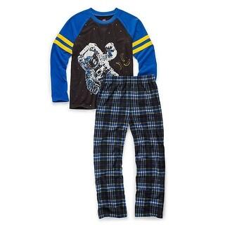 Hanes Boys' Sleepwear 2-Piece Set, Astronaut Print - Size - 10/12 - Color - Astronaut