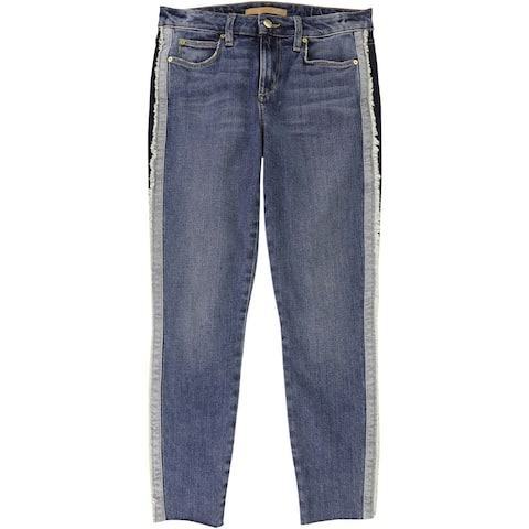 Joe's Womens The Icon Madera Cropped Jeans, Blue, 27