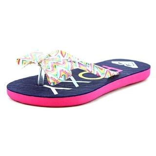 Roxy Lulu II Open Toe Synthetic Thong Sandal