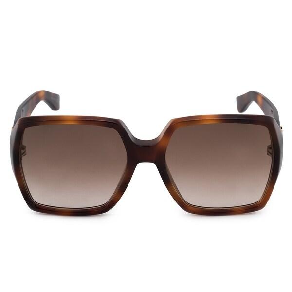 df3525d2e1360 Shop Saint Laurent Oversized Sunglasses SLM2 005 58 - Free Shipping ...