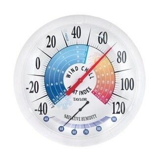 """Taylor 6751 Large Dial Thermometer, 13.25"""""""