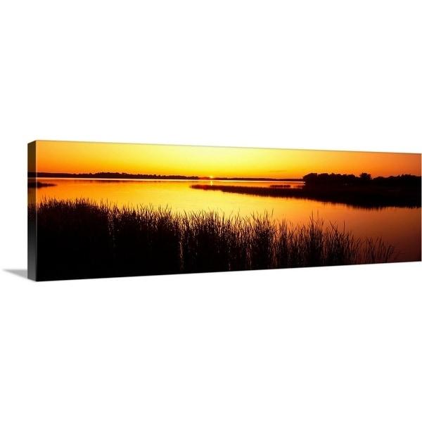 Shop Premium Thick-Wrap Canvas entitled Minnesota, Otter