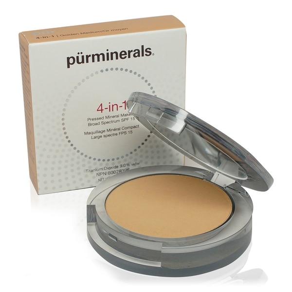 PUR 4-In-1 Pressed Mineral Makeup - Golden Medium 0.28 Oz