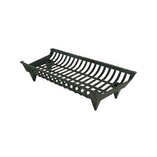 "Pleasant Hearth CG27  28"" Cast Iron Grate - Black"