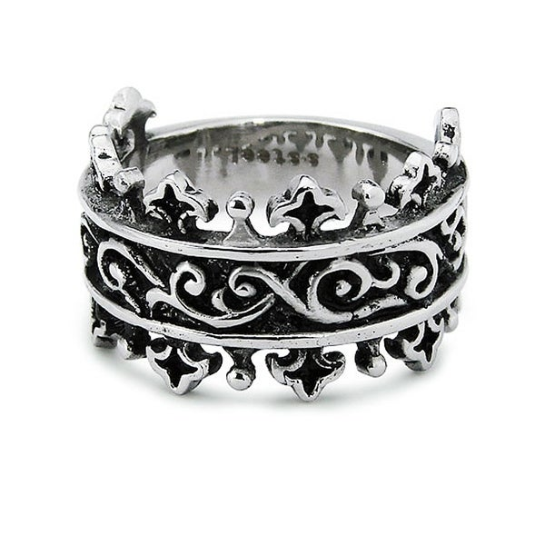Stainless Steel Knight's Ring