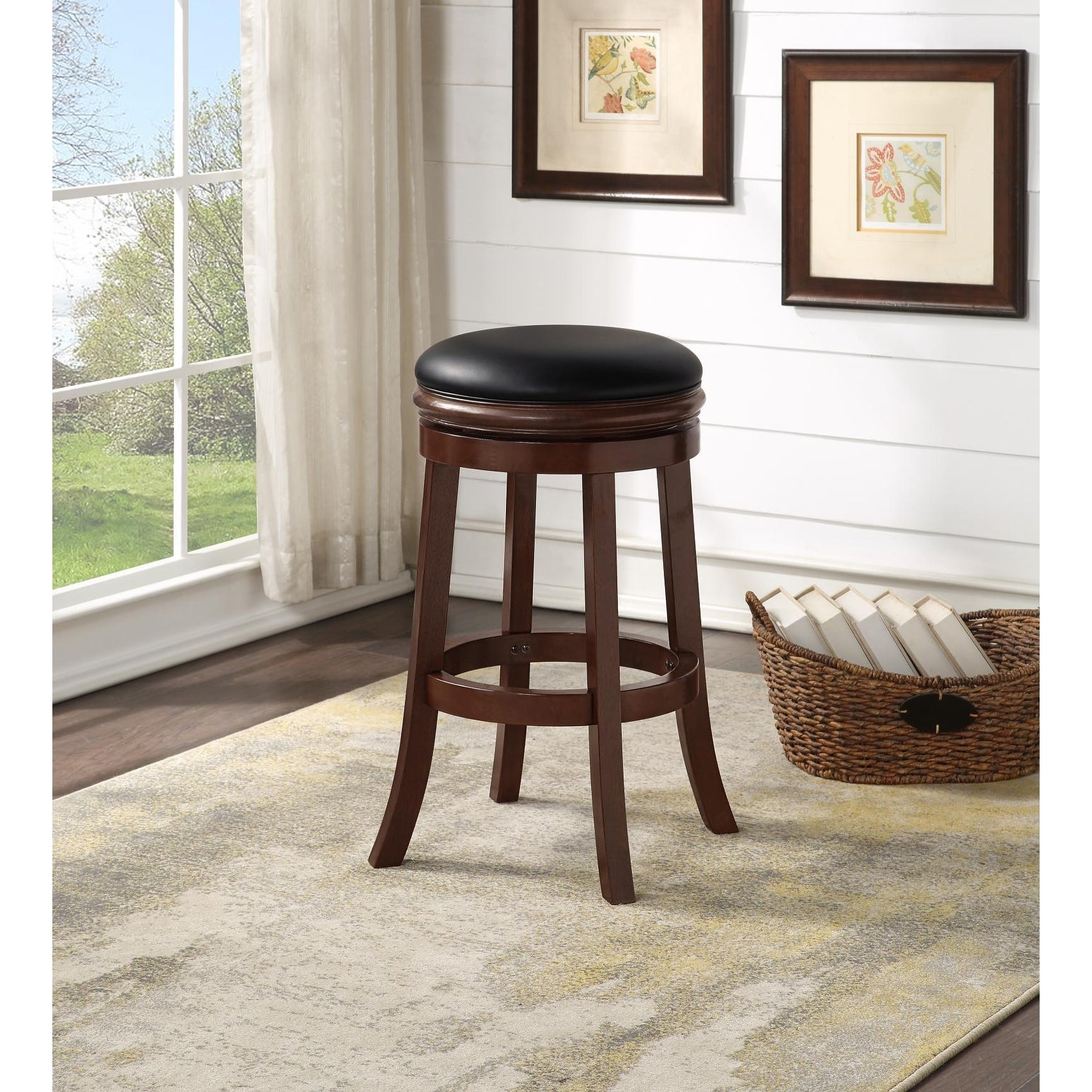 Shop Boraam 29 Inch Backless Bar Stool Overstock 10352504