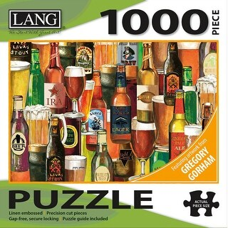 """Jigsaw Puzzle 1000 Pieces 29""""X20""""-Crafted Brews"""