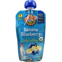 Earth's Best - Organic Banana Blueberry Puree ( 12 - 4 OZ)