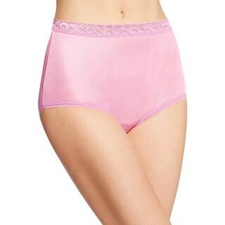 Hanes Women's Nylon Brief Panties 6-Pack - 9