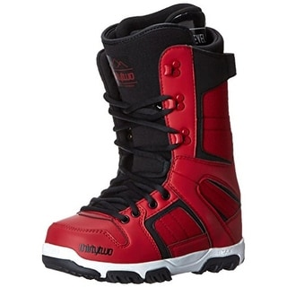 thirtytwo Mens Prion Moldable Liners Rubber Tread Snowboard Boots - Red