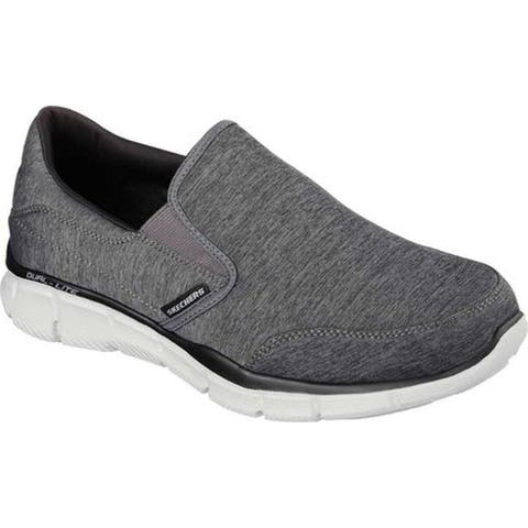Skechers Men's Equalizer Forward Thinking Slip-on Charcoal/Black