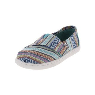 Toms Girls Classic Casual Shoes Tribal Low Top