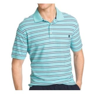 IZOD NEW Blue White Mens Size Large L Valmor Striped Polo Shirt|https://ak1.ostkcdn.com/images/products/is/images/direct/964f434f0e566de76973d9485e18fa50204f7df5/IZOD-NEW-Blue-White-Mens-Size-Large-L-Valmor-Striped-Polo-Shirt.jpg?impolicy=medium