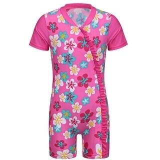 Baby/Infant Girls Swimwear Rashguard UV Protection Swimsuit UPF 50+