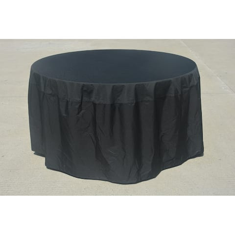 Outdoor Waterproof Round Dining Table Cover by Moda Furnishings