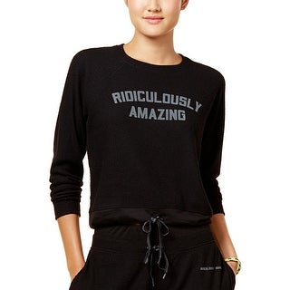 Energie Womens Juniors Ridiculously Amazing Sweatshirt Graphic Long Sleeve - XL