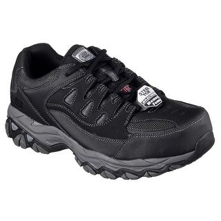 Skechers 77110 BLK Men's HOLDREDGE ST Work