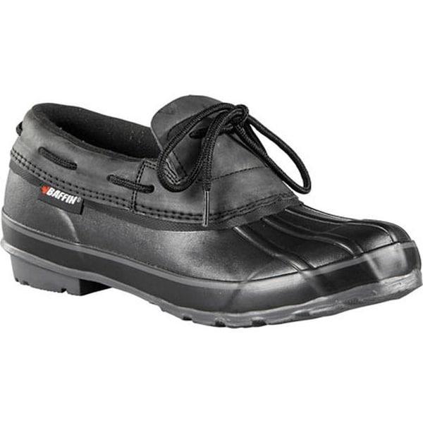 Shop Baffin Men S Coyote Slip On Duck Shoe Black Free
