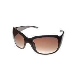 Ellen Tracy Womens Sunglass 508 1 Plum Fashion Square Plastic, Gradient Lens