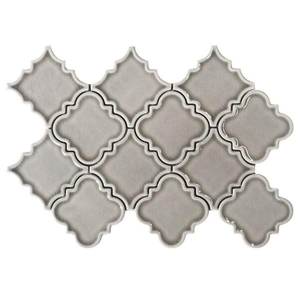 "Emser Tile W94PRES0914MO Prestige - 15/16"" x 1-3/8"" Deco Backsplash Mosaic Tile - Textured Ceramic Visual"