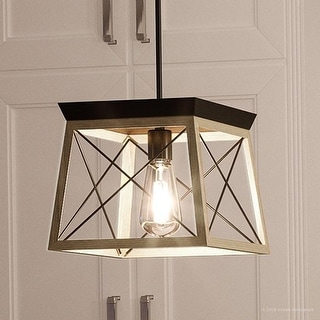 Luxury Chic Pendant Light 9 H X 10 W With Modern Farmhouse Style Charcoal Finish By Urban Ambiance Ping The Best
