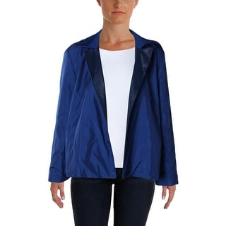 Lafayette 148 Womens Basic Jacket Reversible Leather