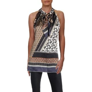 be690b2d1e4bf3 Buy Brown Sleeveless Shirts Online at Overstock