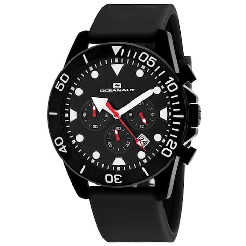 Oceanaut Men's Naval Black Dial Watch - OC1310