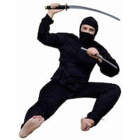 Ninja Adult Costume - Black
