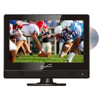 Supersonic SC-1312 13.3 Widescreen LED HDTV with Built-in DVD Player
