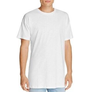 HUGO Doracle Long Fit Tee Cotton T-Shirt White - XL
