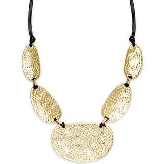 INC International Concepts Gold-Tone Metal Statement Necklace - GOLD