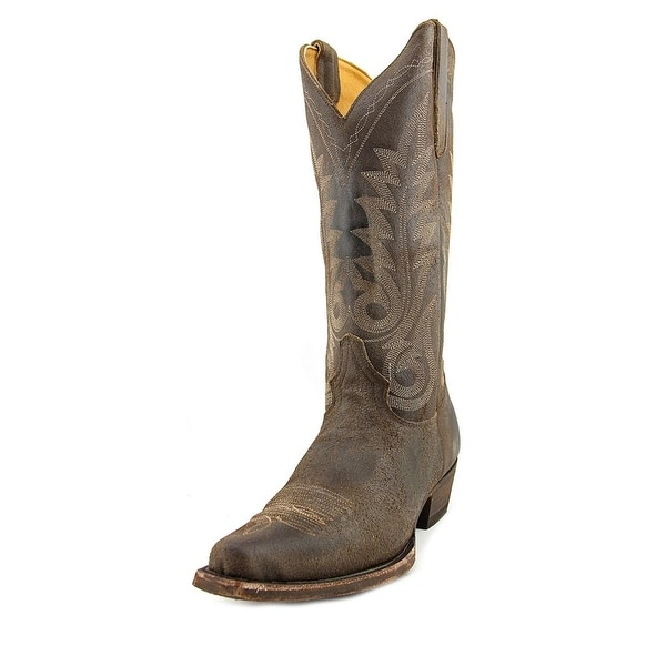 "Old Gringo Nevada Bis 13"" Men Pointed Toe Leather Brown Western Boot"