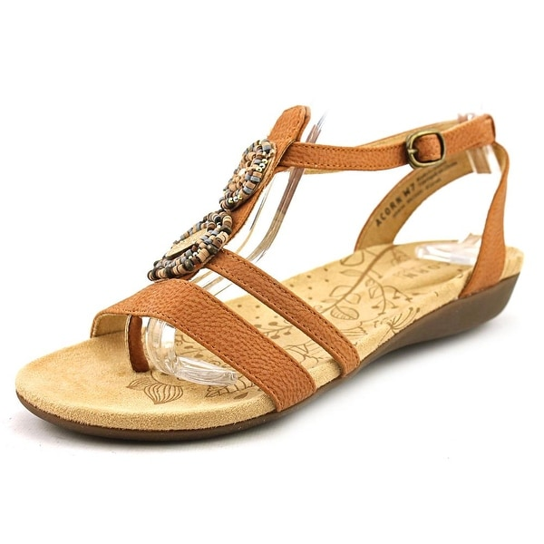 Acorn Samoset Ankle Open Toe Leather Gladiator Sandal